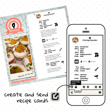 How to create recipe cards?